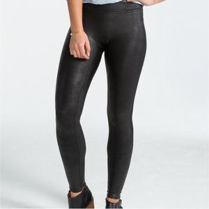 Spanx faux leather leggings  Black XL